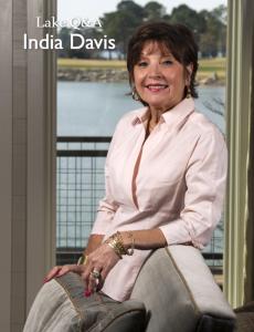 A picture of India Davis in Lake Magazine